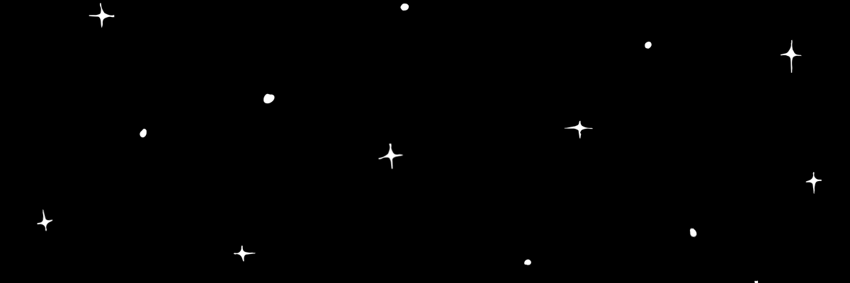 black star header